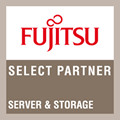 Fujtisu Select Partner Storage and Server Logo
